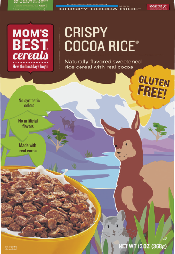 Mom's Best Cocoa Rice Cereal