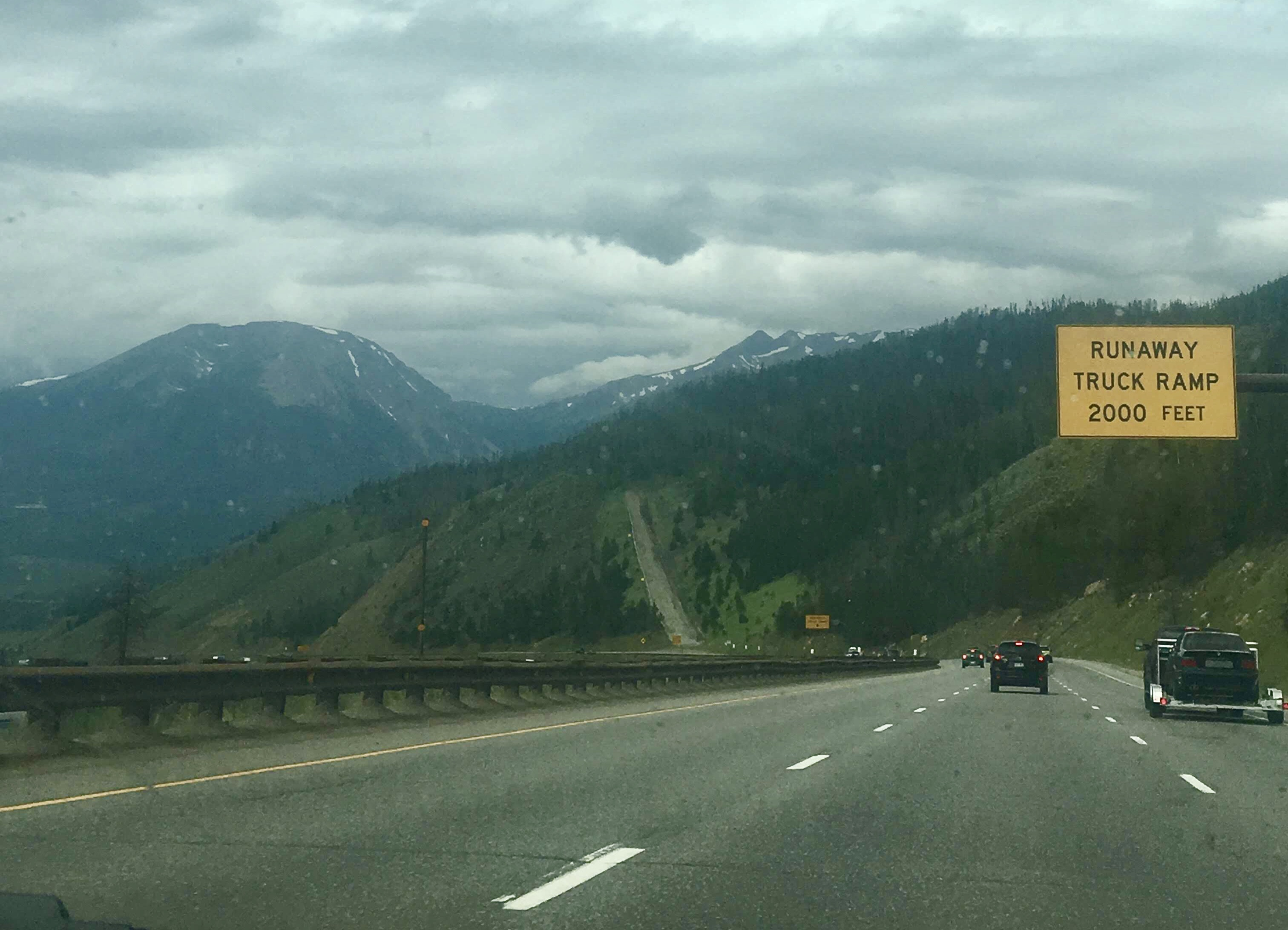 Road trip to LA through Colorado
